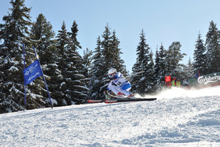 On 15th and 16th of February the European cup in alpine skiing