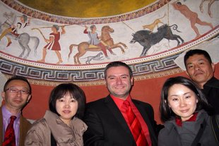 Japanese tour operators arrived in Haskovo