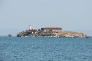The island Saint Anastasia in Burgas